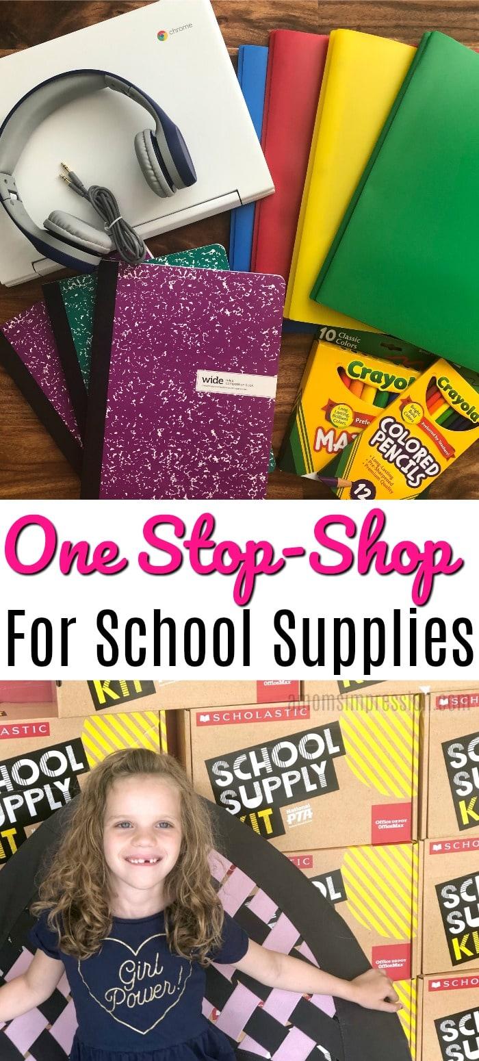 school supply pin
