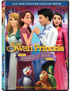 Swan Princess Kingdom of Music DVD