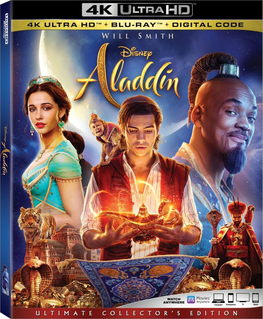 Aladdin-Live-Action Blu-ray