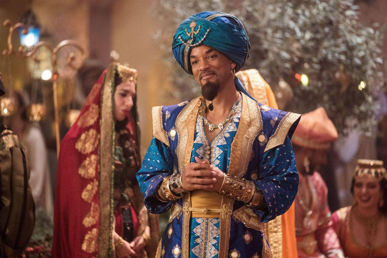 Will Smith as the Genie