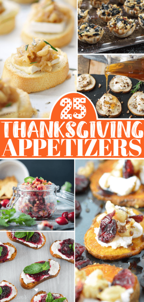 Thanksgiving Appetizers Pin 1