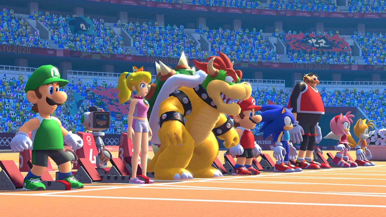sonic and mario olympic games