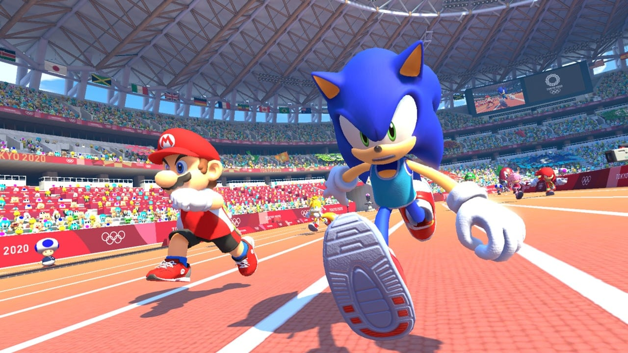 track and field sonic and mario