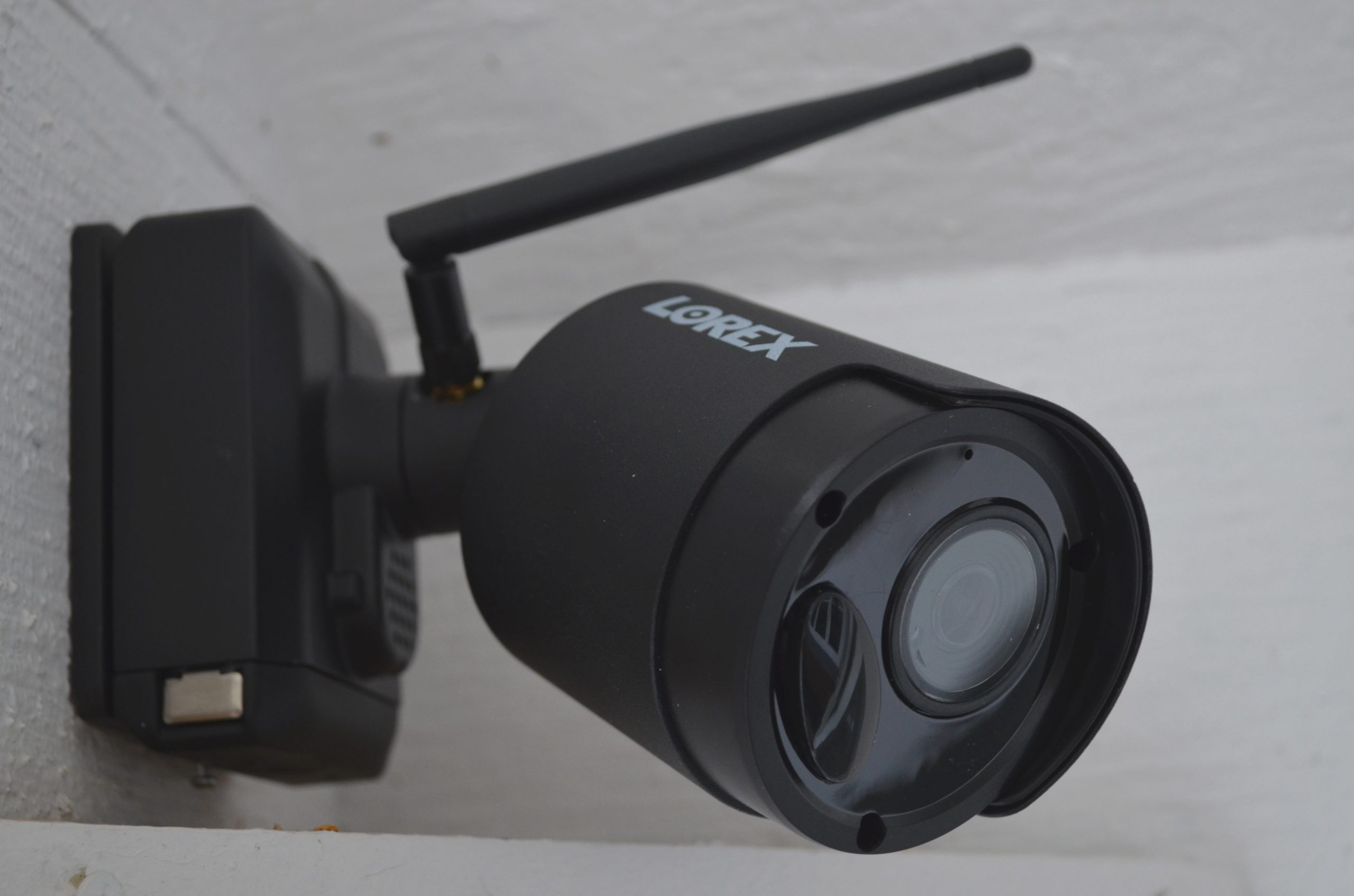 lorex home security camera installed