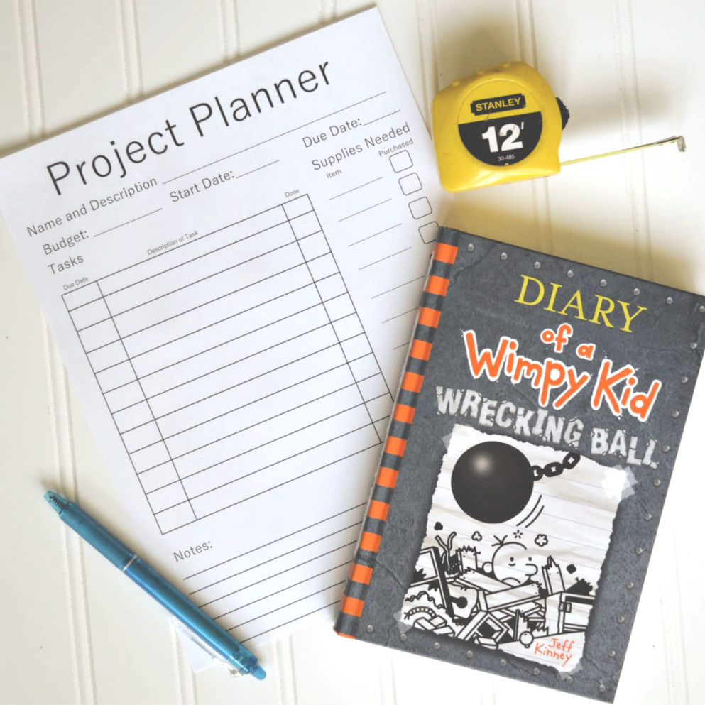 DIY Project Planner Printable