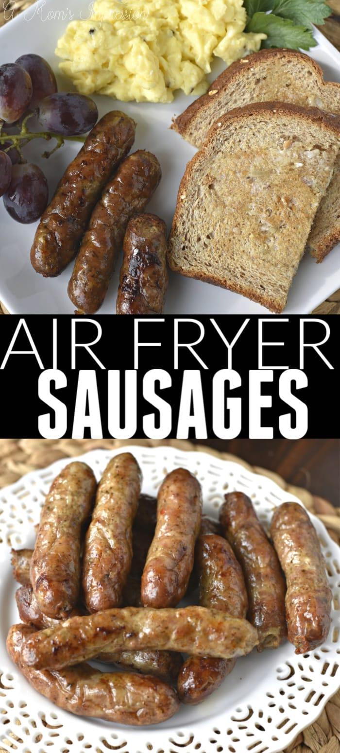Perdue Air Fryer Sausages Pin