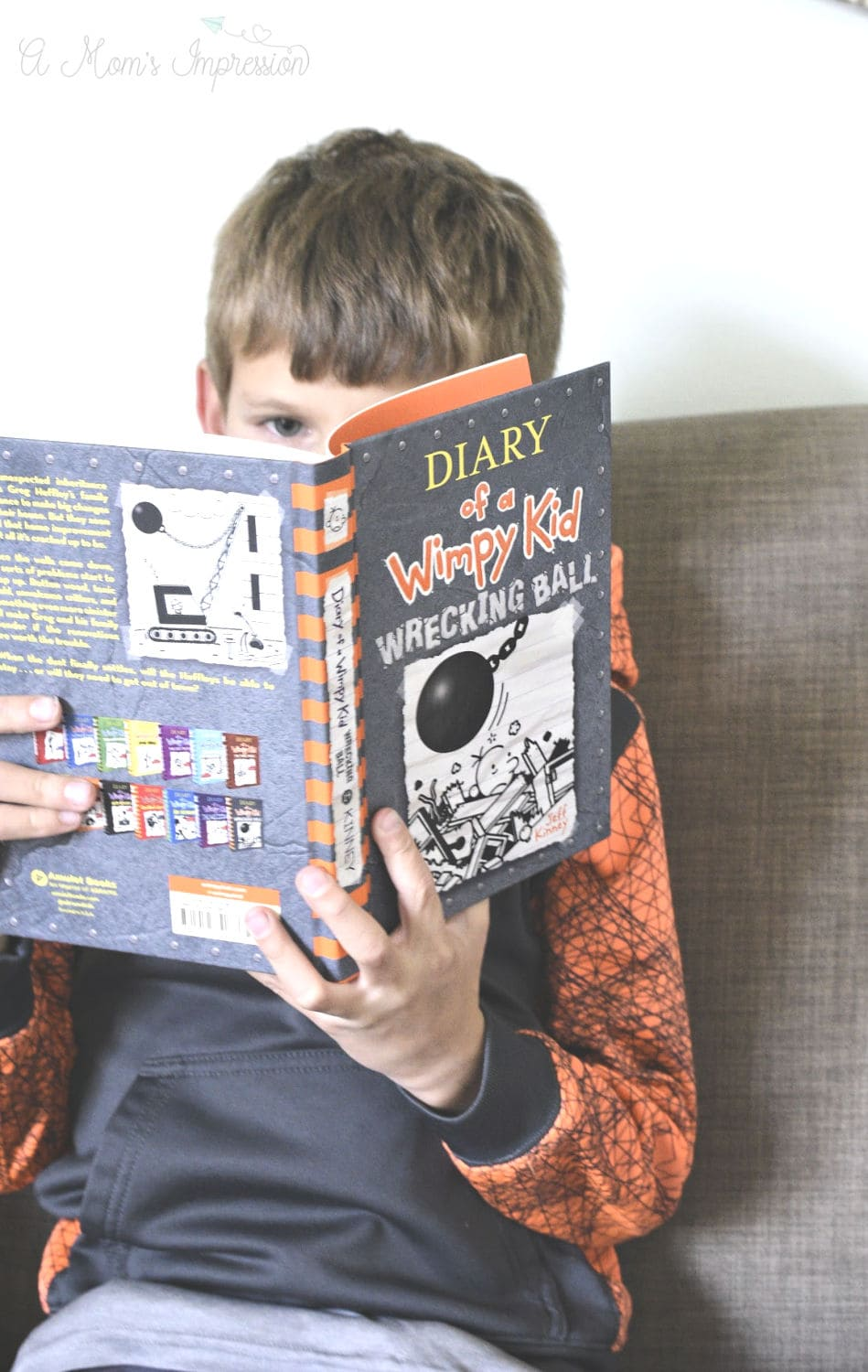Ready wimpy kid books