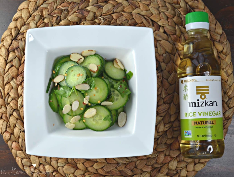 Asian Cucumber Salad with Mizkan Rice Vinegar