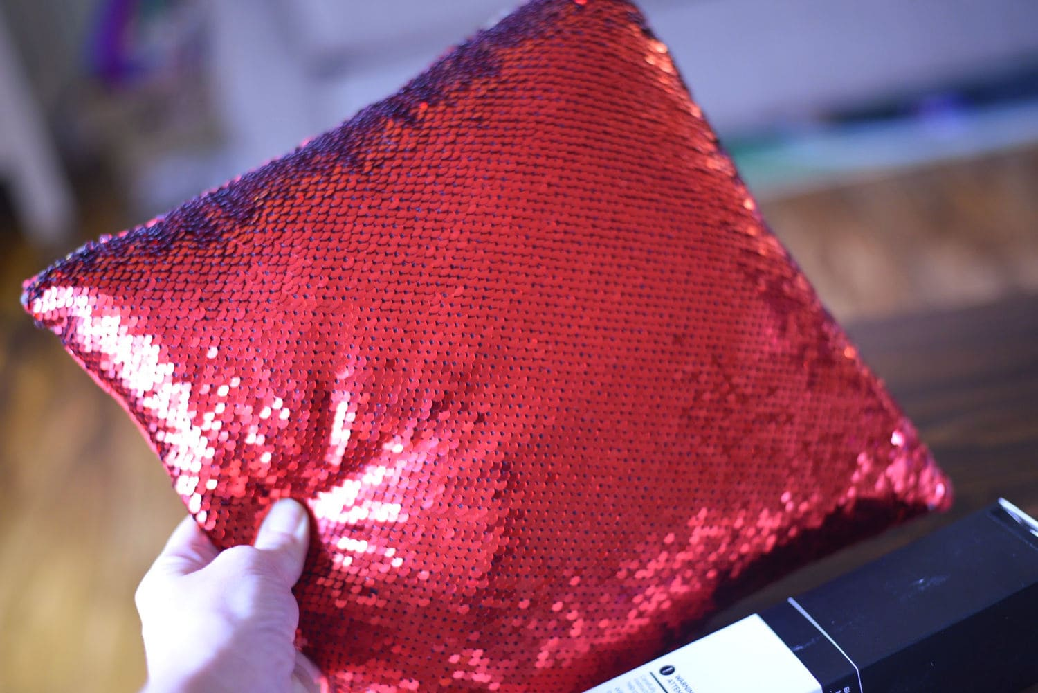 Blank Sequin Pillow