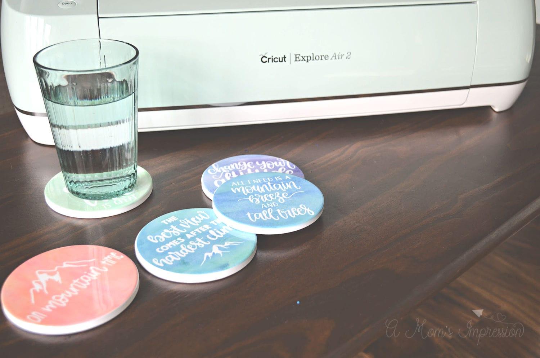 Cricut DIY Coasters