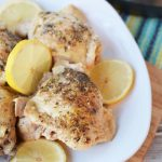 Pressure Cooker Lemon Garlic Chicken