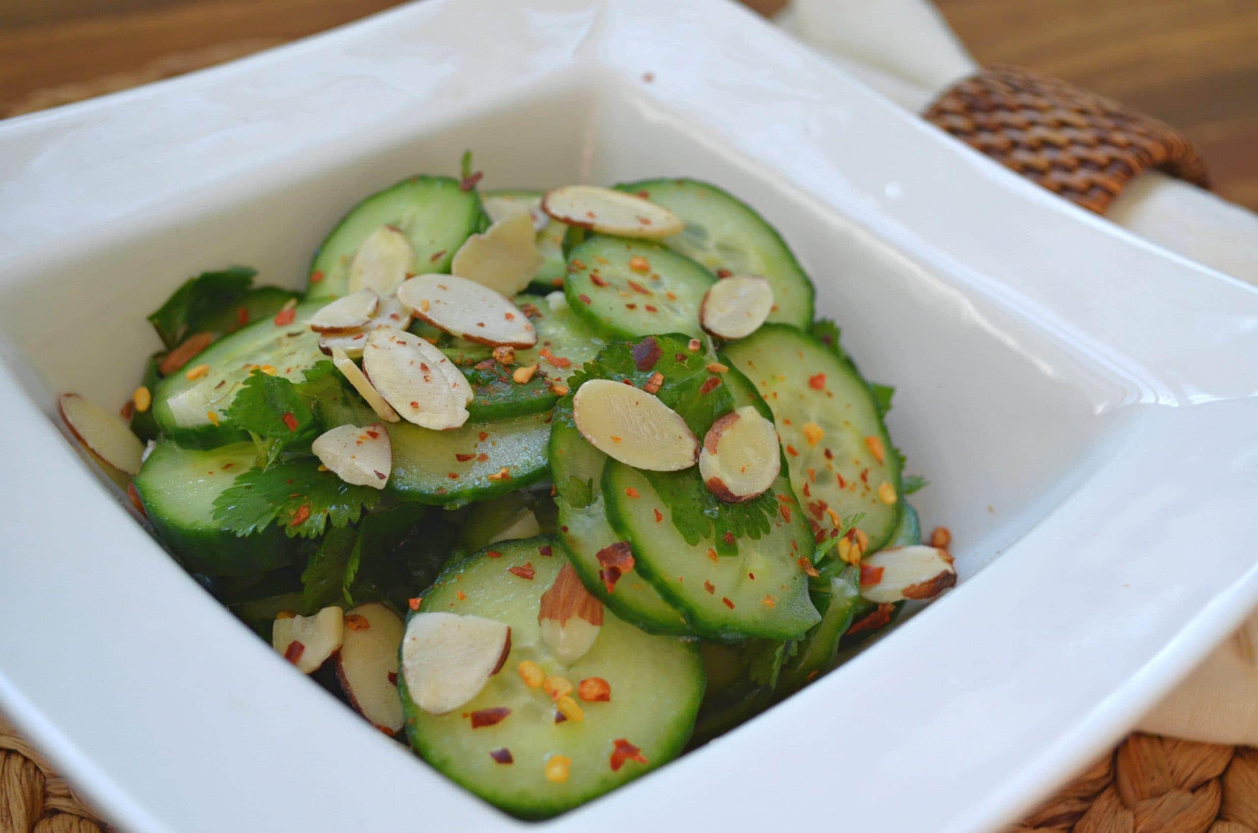 authentic asian cucumber salad