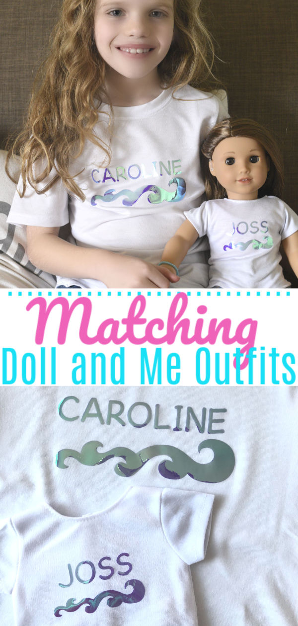 Doll Matching Outfits Pin