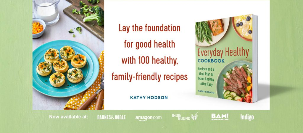 EverydayHealthyCookbook cover for an ad