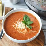 Instant Pot Tomato Soup is a great comfort food recipe made in your pressure cooker.