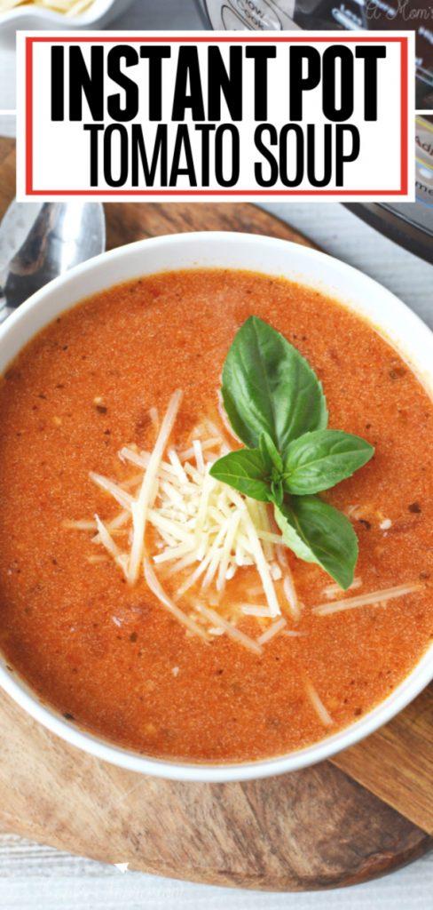 Instant Pot Tomato Soup Pin 2