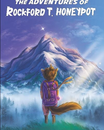 The front cover of the the adventures of rockford t honeypot book