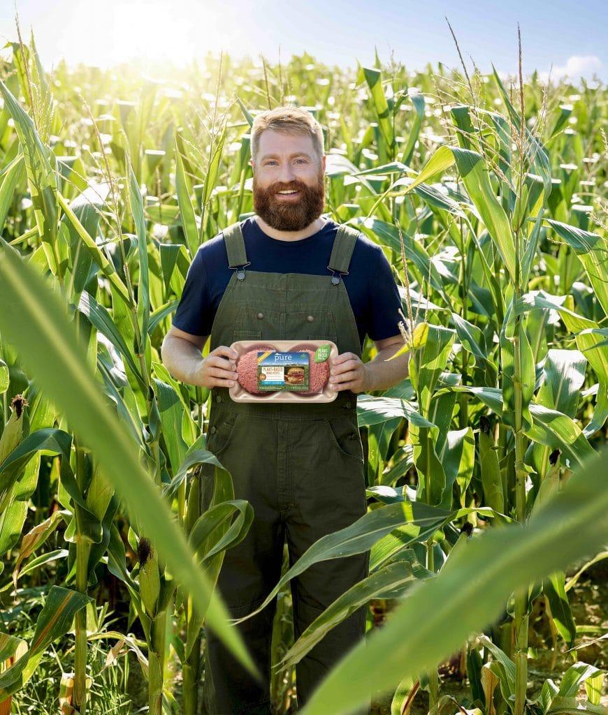 pure farmland plant based burgers