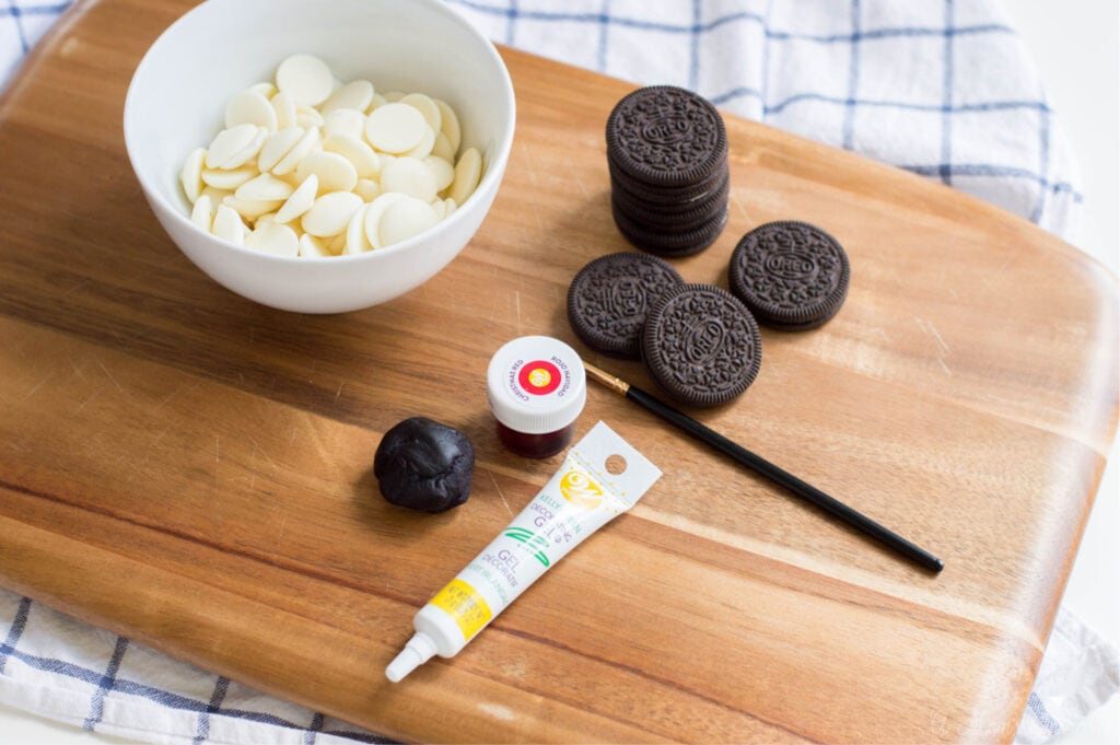 Oreo Eyeball Ingredients.