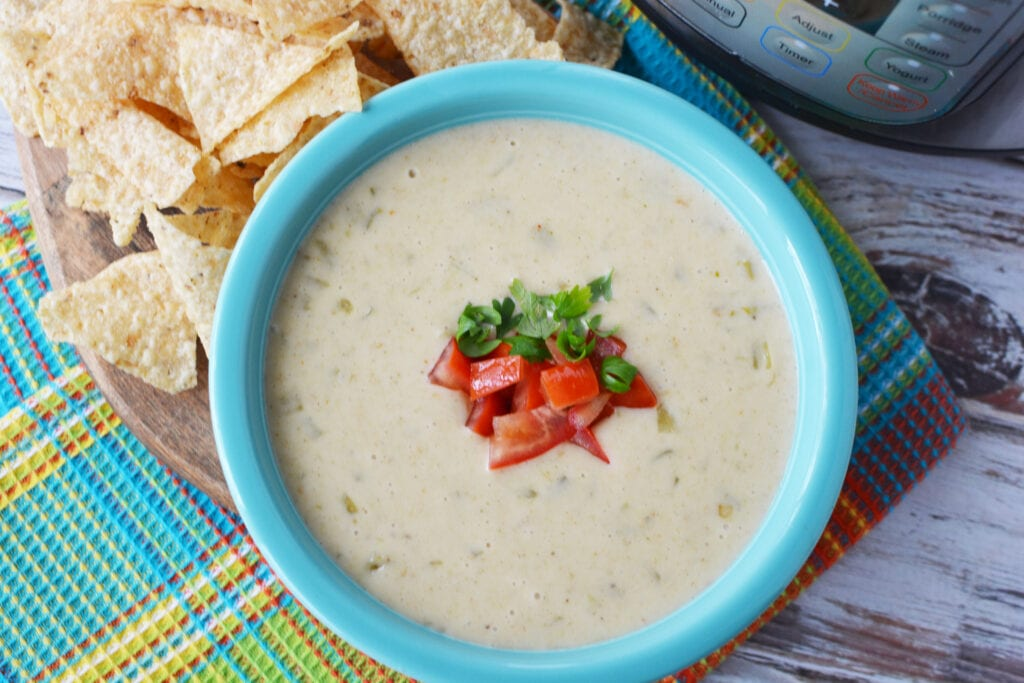 Instant Pot Queso is a great Pressure Cooker Appetizer Recipe