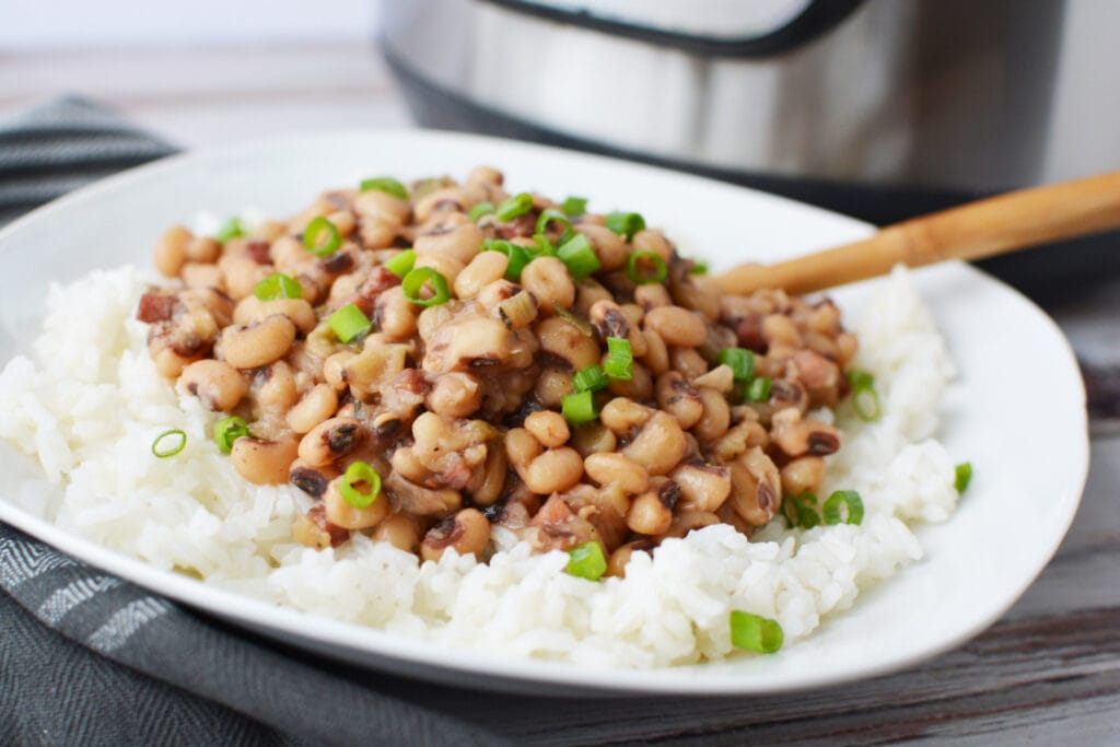 Instant Pot Hoppin' John Recipe is made in your Pressure Cooker.