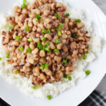 Instant Pot Hoppin' John Soup is a classic southern dish on New Years.