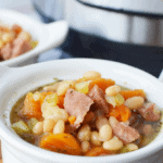 Instant Pot Ham and Beans Cover Photo