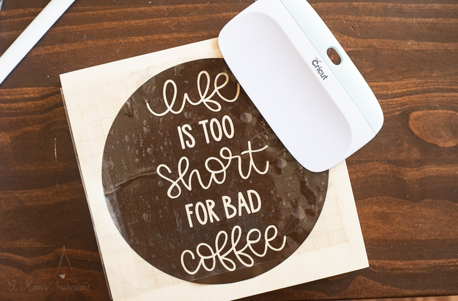 life is too short for bad coffee sign
