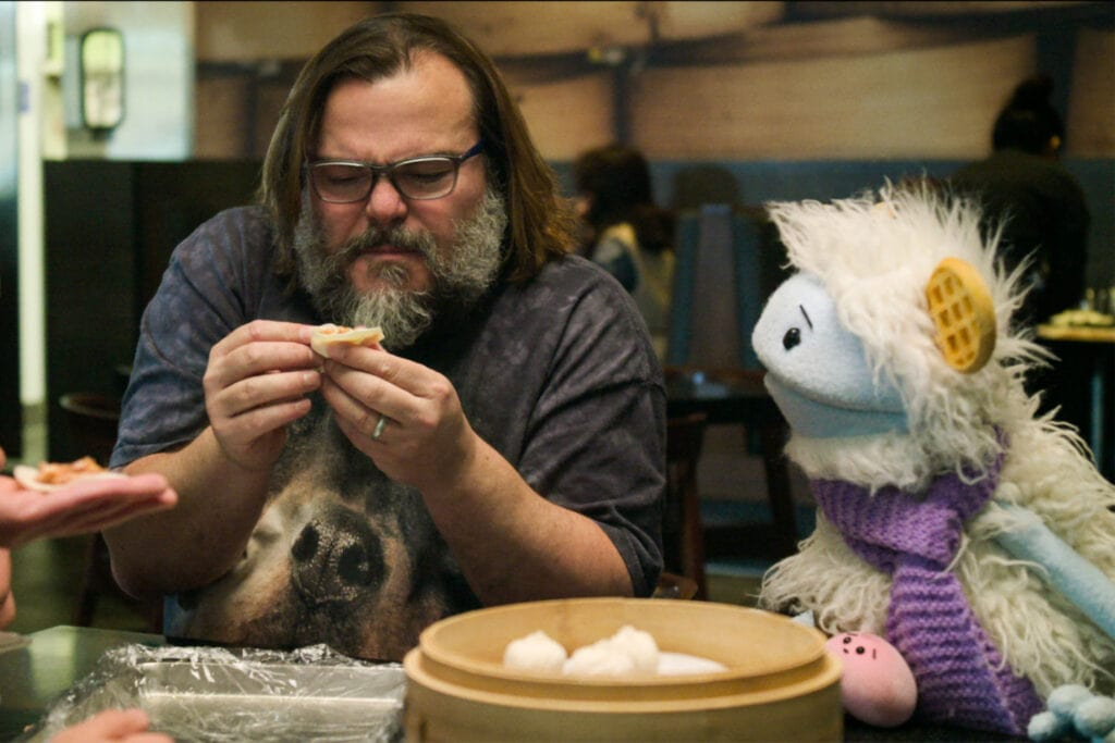 waffles mochi and jack black