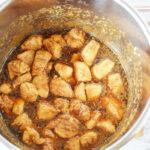 Cook sesame chicken in instant pot