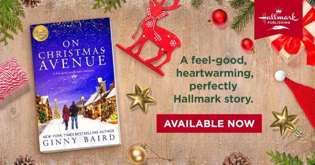 Hallmark publishing On Christmas Avenue Book
