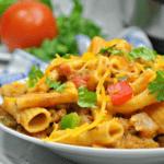 Instant Pot Cheesy Taco Pasta Cover Image